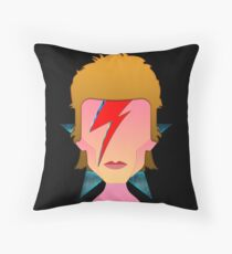 My Tribute to Starman  Throw Pillow
