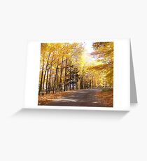 Follow the path Greeting Card