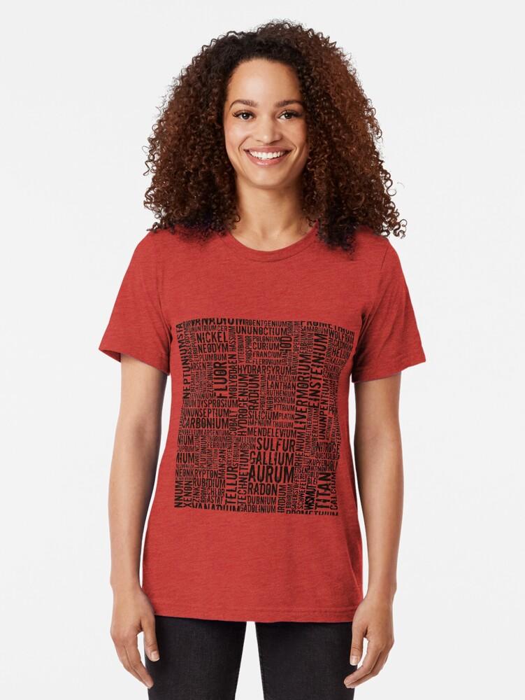 Alternative Ansicht von Chemical Elements Vintage T-Shirt