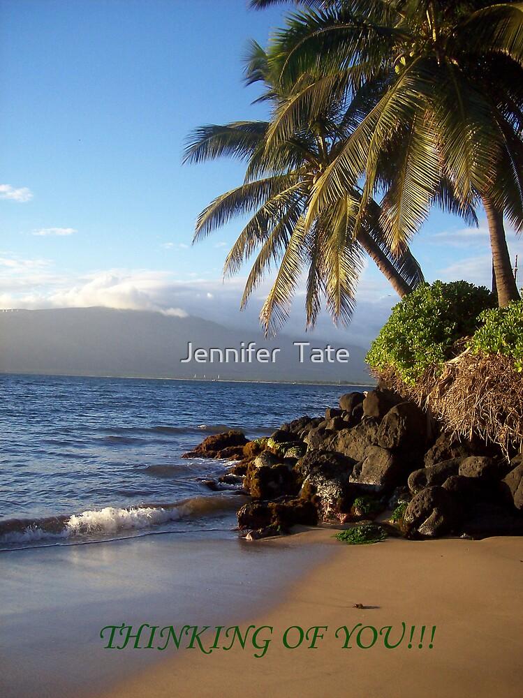 Thinking of You card 2 by Jennifer  Tate