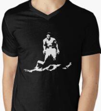 Camiseta de cuello en V Camiseta de boxeo Muhammad Ali la leyenda del boxeo