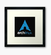 Arch Linux Framed Print