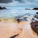Calm at Clachtoll Bay, Sutherland Scotland by Cliff Williams