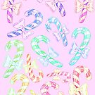 Colorful Candy Canes by FTMLand