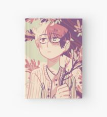Todoroki with Flowers Hardcover Journal