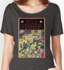 Bob Newby Comic Cover (Clean) Women's Relaxed Fit T-Shirt