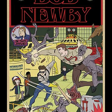 Bob Newby Comic Cover (Clean) by opiester