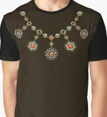 Ethnic Necklace ( Gold Jewelry ) Graphic T-Shirt