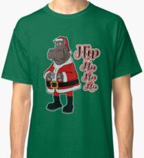 Hip Ho Ho Ho- Funny Christmas Hippo Classic T-Shirt