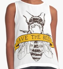 Save The Bees! Contrast Tank