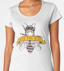 Save The Bees! Women's Premium T-Shirt
