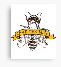 Lienzo ¡Salva a las abejas!