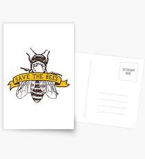 Postales ¡Salva a las abejas!