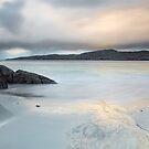 Pastel dawn at Achmelvich Bay, West Coast Scotland by Cliff Williams