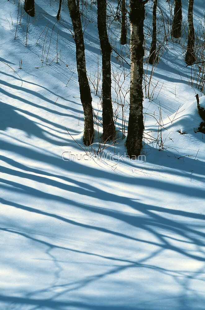 WINTER SHADOWS by Chuck Wickham