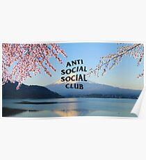 Anti Social Social Club Japan  Poster