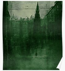 Edinburgh by night Poster