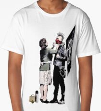 Banksy - Anarchist And Mother Long T-Shirt