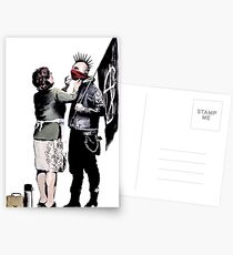 Banksy - Anarchist und Mutter Postkarten