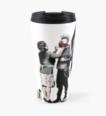 Banksy - Anarchist And Mother Travel Mug