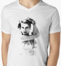 CELESTIAL VOYAGE Men's V-Neck T-Shirt