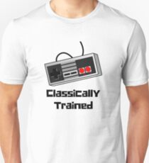 Classically Trained Old School Gamer Controller  T-Shirt