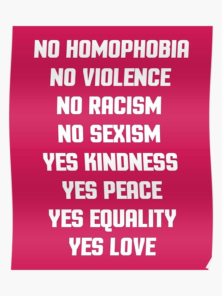 Pas De Citation D Homophobie Poster