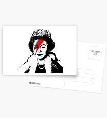 """Banksy - """"Raumkönigin"""" Postkarten"""