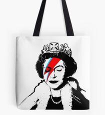 "Banksy - ""space queen"" Tote Bag"