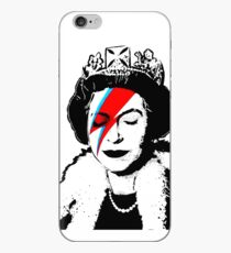 "Banksy - ""space queen"" iPhone Case"