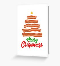 Merry Crispness! Greeting Card