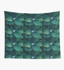 Floral green pattern Wall Tapestry