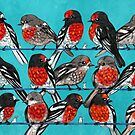 Red Robins by Marta Tesoro