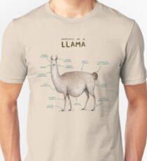 Anatomy of a Llama Unisex T-Shirt