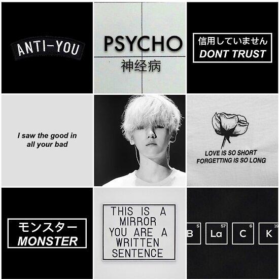 Quot Exo Baekhyun Grunge Aesthetic Quot Poster By Oreokitkat