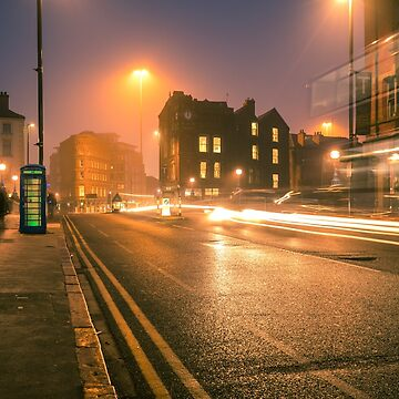 Foggy Leeds Bridge - West Yorkshire by ademcfade