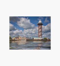 Dobbins Landing -  Bicentennial Tower - Erie, PA Art Board