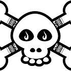 Skull & Bones Tattoo by Pierre Zuber