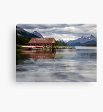 Maligne Lake - Jasper National Park Metal Print