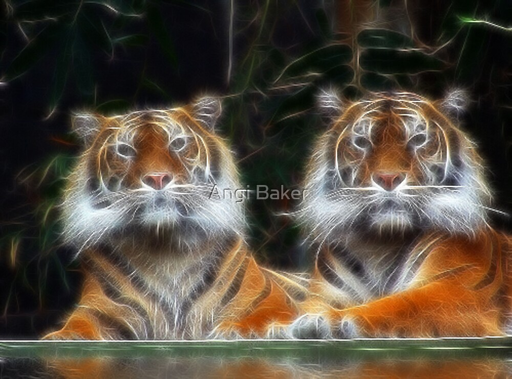 Just The Two Of Us by Angi Baker