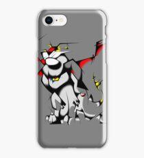 Black Voltron Lion Cubist iPhone Case/Skin