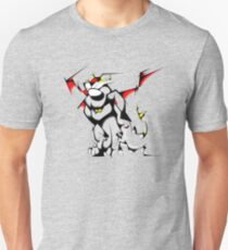 Black Voltron Lion Cubist T-Shirt