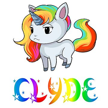 Clyde Unicorn by Bestseller-hot