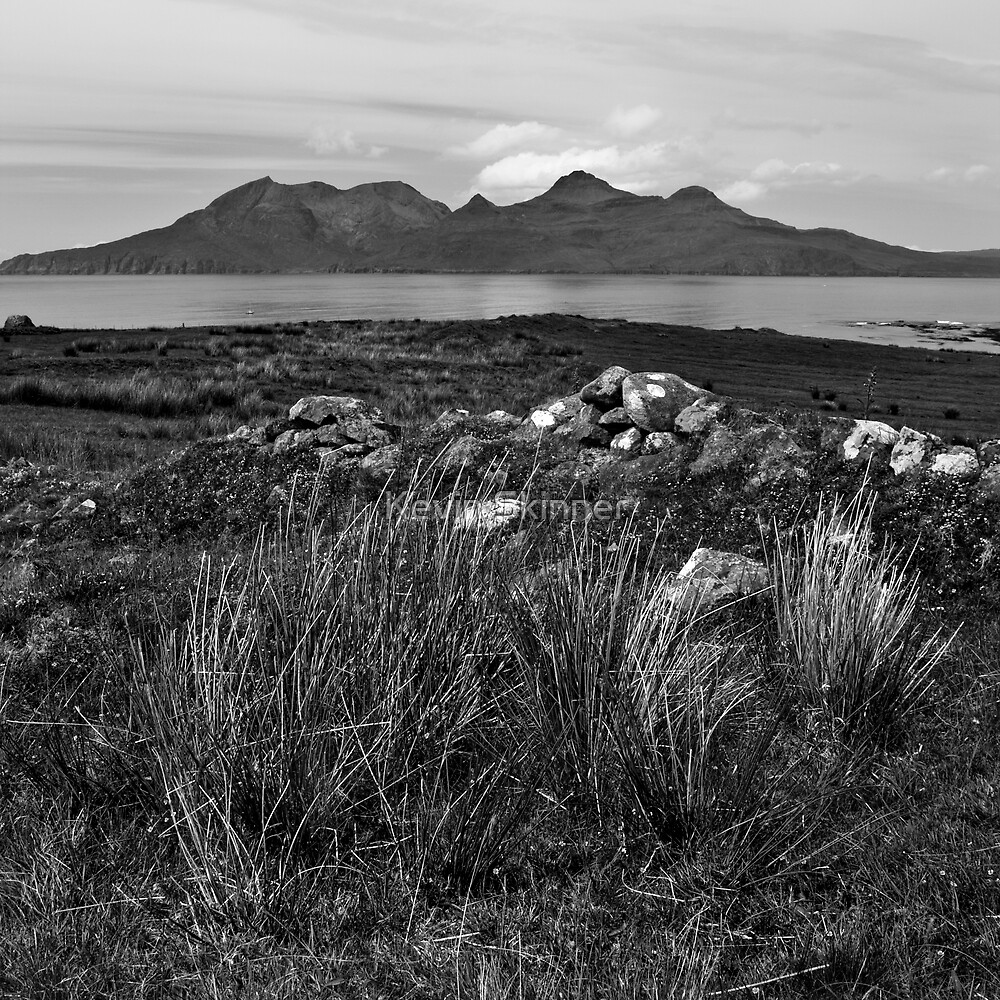 Isle Of Eigg - A View Over To Rhum by Kevin Skinner