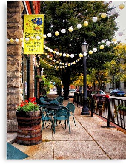 Sidewalk of Erie by Kathy Weaver