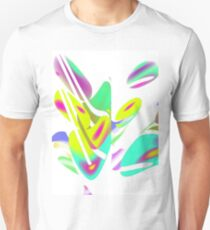 whimsical abstract butterfly  T-Shirt