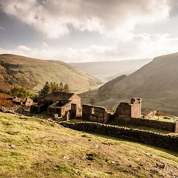 Crackpot Hall, Swaledale, North Yorkshire by ademcfade