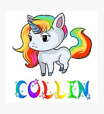Collin Unicorn Photographic Print