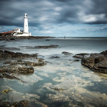 St Mary's Lighthouse, Northumberland by ademcfade