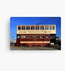 Birkenhead Tram 70 Canvas Print
